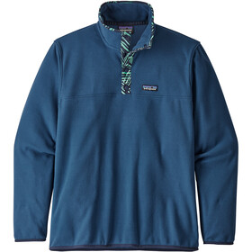 Patagonia M's Micro D Snap-T Pullover Stone Blue